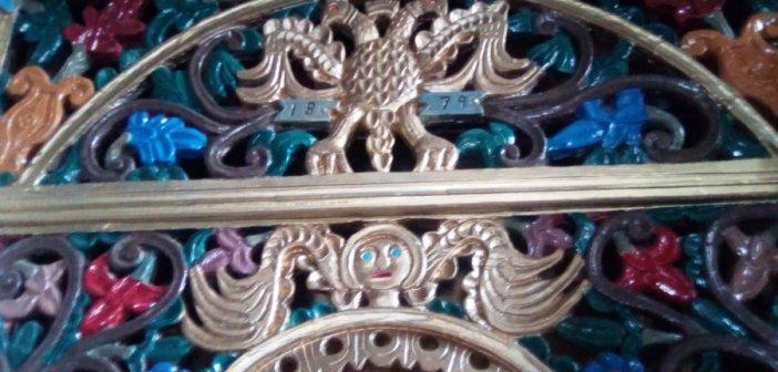 Tο ξυλόγλυπτο τέμπλο της Αγίας Παρασκευής Λιβαδακίου ορεινής Ναυπακτίας (ΦΩΤΟ)