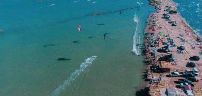 Κατοχή Μεσολογγίου: Με μεγάλη επιτυχία το 5ο φεστιβάλ Kite Surf στο Διόνι (φωτο)