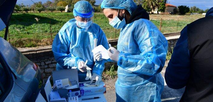 Συνεχίζονται οι κατ' οίκον εμβολιασμοί με τη συνδρομή του Δήμου Ναυπακτίας