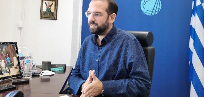 """Ν. Φαρμάκης: """"Η προσπάθεια για την πρόληψη και αντιμετώπιση των πυρκαγιών είναι διαρκής"""""""