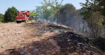 Θέρμο: Κατασβέστηκε άμεσα η πυρκαγιά στην θέση «Διάσελο» (ΦΩΤΟ)