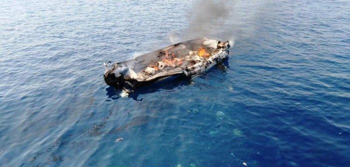 Φωτιά σε μικρό σκάφος μεταξύ Καλάμου και Μεγανησίου