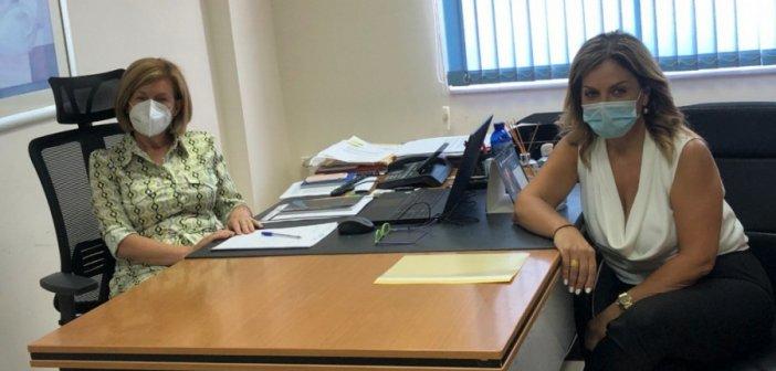 Συνάντηση Χριστίνας Σταρακά με Ελένη Φιλιπποπούλου – «Να λειτουργήσει άμεσα η ΜΕΘ και να επιστρέψει το Νοσοκομείο σε συνθήκες κανονικότητας»