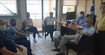 Επίσκεψη κλιμακίου της παράταξης Κατσιφάρα στην Αμφιλοχία (ΦΩΤΟ)