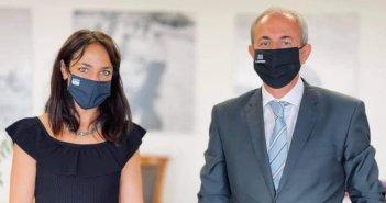 Συνάντηση δημάρχου Θέρμου με την υφυπουργό Εργασίας και Κοινωνικών Υποθέσεων (ΦΩΤΟ)