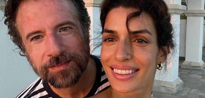 Κωστής Μαραβέγιας και Τόνια Σωτηροπούλου απολαμβάνουν τις διακοπές τους στην Τήνο
