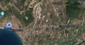 Στο τελικό στάδιο για την υλοποίησή του το έργο κατασκευής των πεζοδρομίων του ανατολικού τμήματος της Ναυπάκτου