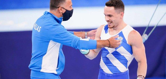 Προπονητής Πετρούνια: «Ο Λευτέρης έχει κρατήσει για τον τελικό το καλύτερο πρόγραμμα της ζωής του»
