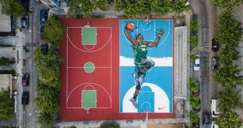 Γιάννης Αντετοκούνμπο: Disney και Δήμος Αθηναίων «μεταμορφώνουν» τα γήπεδα στα Σεπόλια (φωτογραφίες)
