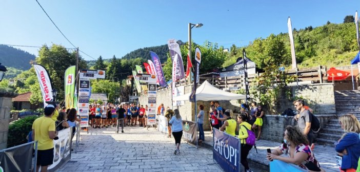 Με επιτυχία ο πρώτος αγώνας τρεξίματος Ορεινής Ναυπακτίας!