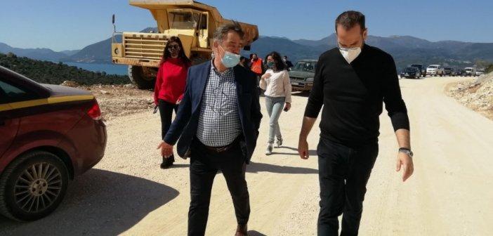 Ξεκινάει η ανακατασκευή του δρόμου Παλαίρου – Πογωνιάς και αντιμετώπισης της κατολίσθησης στη θέση Όχθια