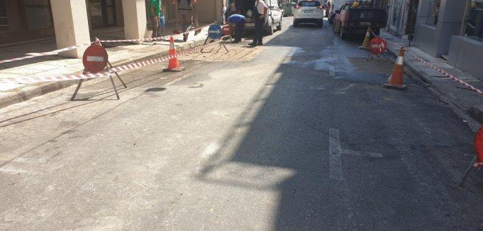 Αγρίνιο: Πάλι στην κυκλοφορία η οδός Σουλίου – Με προσοχή η διέλευση μέχρι να αποκατασταθεί πλήρως το οδόστρωμα