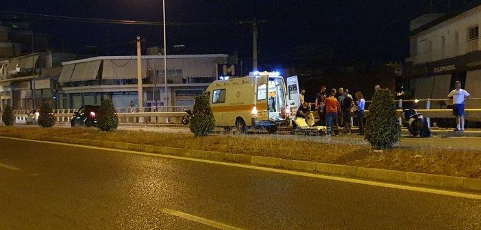 Αγρίνιο – Εθνική Οδός: Ατύχημα είχε οδηγός μηχανής – Μεταφέρθηκε στο νοσοκομείο (ΦΩΤΟ)