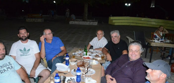 Επίσκεψη του κ. Νίκου Καραπάνου στην Χρυσοβίτσα Ξηρομέρου