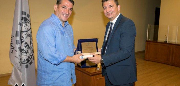 Τιμητική αναγόρευση προσωπικοτήτων ως επίτιμων δημοτών του Δήμου Ξηρομέρου