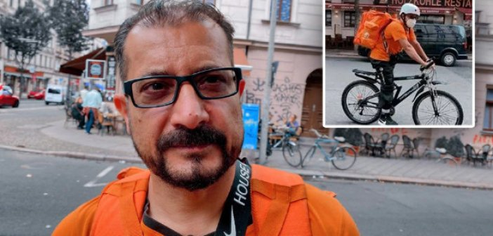 Αφγανός υπουργός έγινε διανομέας με ποδήλατο στη Γερμανία