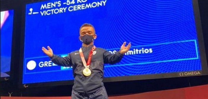 Παραολυμπιακοί Αγώνες: Χάλκινο μετάλλιο ο Μπακοχρήστος από την Αιτωλοακαρνανία στην άρση βαρών