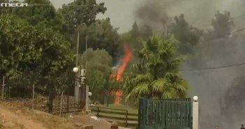 Φωτιά στην Ηλεία: Κόλαση φωτιάς στη Νεμούτα – Δραματική έκκληση των κατοίκων