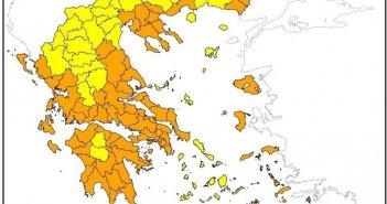 Δυτική Ελλάδα: Πολύ υψηλός κίνδυνος πυρκαγιάς – Που απαγορεύεται η κυκλοφορία & η παραμονή εκδρομέων