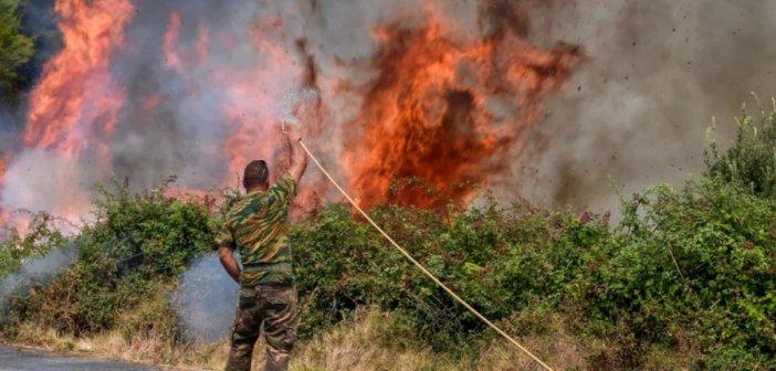 Φωτιά στην Ηλεία: Καλύτερη η εικόνα – Πύρινο μέτωπο στην Αρκαδία