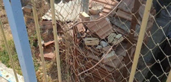 Εικόνα εγκατάλειψης στο Δημοτικό και Νηπιαγωγείο στο Καραΐσκάκη (ΦΩΤΟ)