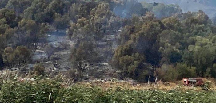Φωτιά στην περιοχή Σουπί Ξηρομέρου (ΦΩΤΟ)