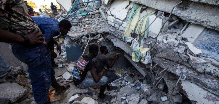Τραγωδία στην Αϊτή: Στους 724 οι νεκροί μετά το σεισμό – Εκατοντάδες τραυματίες και αγνοούμενοι