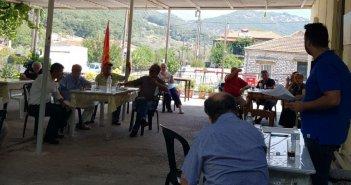 ΚΟ Θέρμου του ΚΚΕ: Σύσκεψη για τις πυρκαγιές και την πανδημία