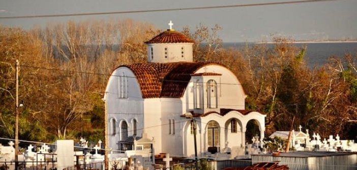 Γιορτάζει ο Ι.Ν Αγίου Ιωάννου του Βαπτιστού στο Παναιτώλιο