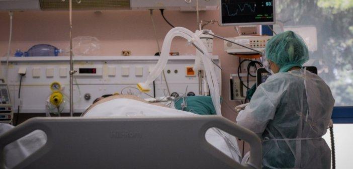 Κορονοϊός: Ανεμβολίαστο το 91,42% των διασωληνωμένων