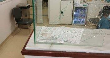 Αγρίνιο: Γυαλιά καρφιά στα επείγοντα του νοσοκομείου μετά από τσακωμό (φωτο)