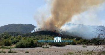 Μεγάλη πυρκαγιά στο Παραδείσι Αιτωλοακαρνανίας – Εκκενώνονται τα χωριά Παραδείσι και Περπάτη (VIDEO)