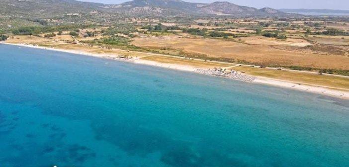 Πογωνιά: Η πιο ρηχή παραλία της Αιτωλοακαρνανίας (VIDEO)
