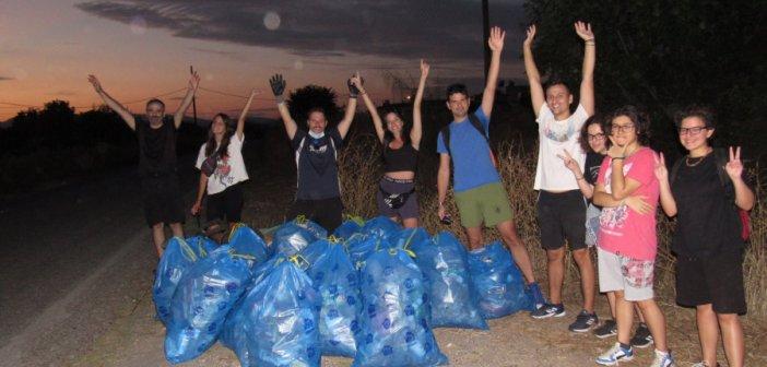 Αγρίνιο – Save Your Hood: Η εθελοντική ομάδα που μάζεψε 22 σακούλες σκουπιδιών στο Δοκίμι (ΦΩΤΟ)