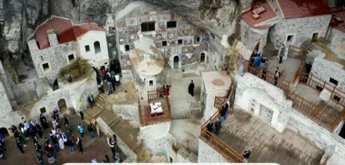 Παναγία Σουμελά στην Τραπεζούντα: Απ' ευθείας  η Πατριαρχική Θεία Λειτουργία