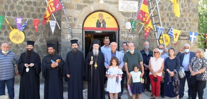 Μητρόπολη Ναυπάκτου: Ἀρχιερατική θεία Λειτουργία στήν Γραμμένη Ὀξυά