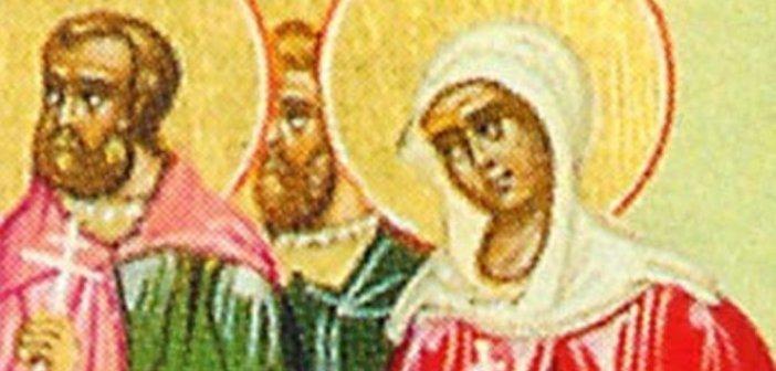 Σήμερα τιμώνται οι Άγιοι: Τιμόθεος, Αγάπιος και Θέκλα