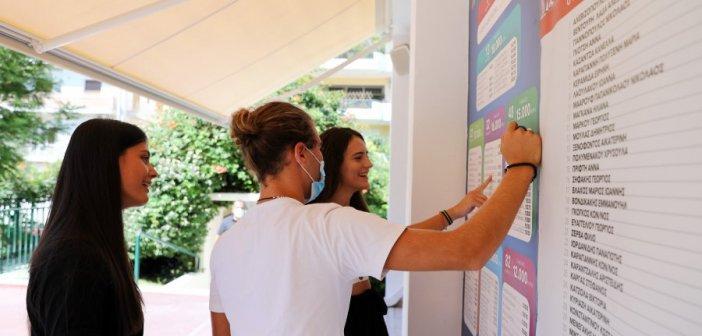 Βάσεις 2021: Ανακοινώνονται τα αποτελέσματα – Oι σχολές που θα πιάσουν ταβάνι