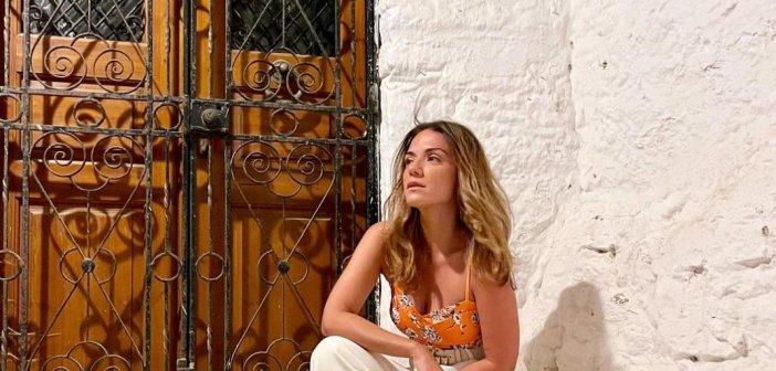 Η Βάσω Λασκαράκη μας δείχνει για πρώτη φορά την κόρη της, Εύα Τσιμιτσέλη