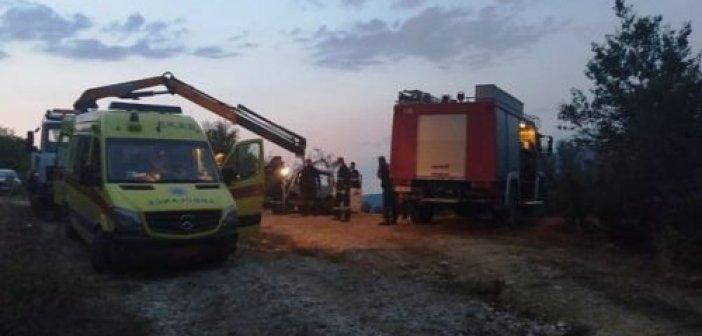 Ζαγόρι: Απανθρακώθηκε αστυνομικός σε τροχαίο – Τελευταία στιγμή γλίτωσε η σύζυγός του