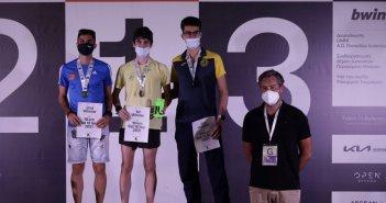 Κώστας Σταμούλης – Ελένη Νικολοπούλου – Νίκος Σταμούλης: Νικητές στους αγώνες «IOANNINA LAKE RUN 2021»