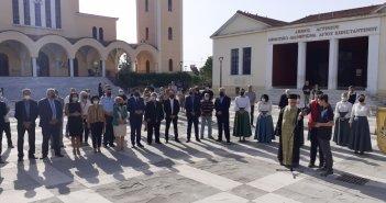Αγρίνιο: Σε κλίμα συγκίνησης τελέστηκε το μνημόσυνο για τα θύματατης Μικρασιατικής καταστροφής (ΦΩΤΟ)