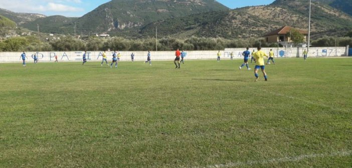 Αχέροντας Καναλακίου – Παναγρινιακός: Ημίχρονο 2-1
