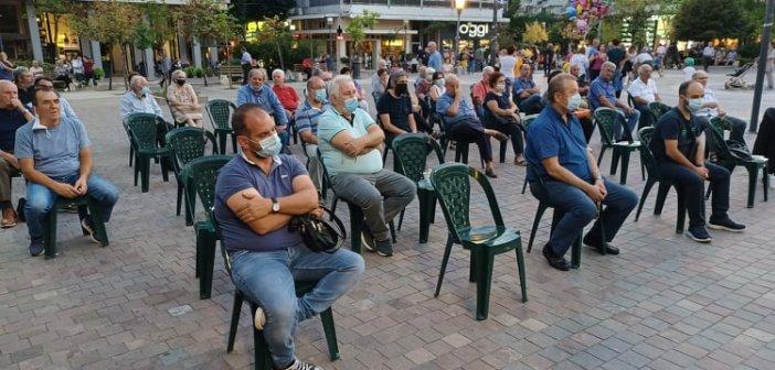 Η εκδήλωση της ΠΕΑΕΑ-ΔΣΕ για την απελευθέρωση του Αγρινίου από τον ΕΛΑΣ (ΦΩΤΟ)