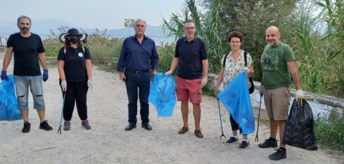 Με επιτυχία η εθελοντική δράση καθαρισμού στα Αμπάρια Παναιτωλίου (φωτο & video)