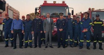 Σπήλιος Λιβανός: Επίσκεψη στο νέο κτήριο διοίκησης των Πυροσβεστικών Υπηρεσιών Αιτωλοακαρνανίας (φωτο)