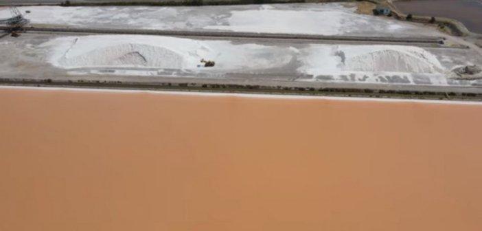 Αλυκές Μεσολογγίου: Εδώ παράγεται το 65% του ελληνικού αλατιού