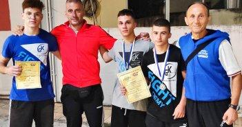 Ηρακλής Αγρινίου: Δύο ασημένια μετάλλια στο Πανελλήνιο πρωτάθλημα πυγμαχίας Νέων και under 22