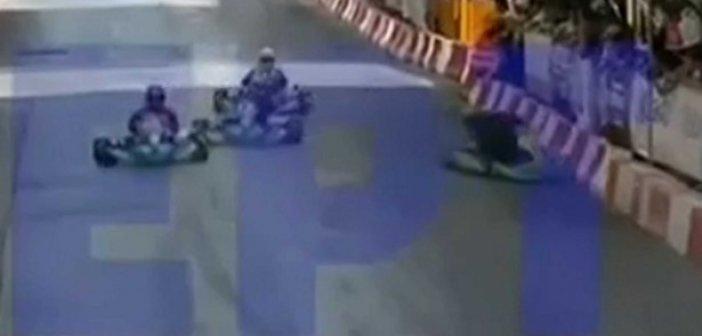 Πάτρα: Βίντεο ντοκουμέντο με τον σοβαρό τραυματισμό 6χρονου παιδιού σε αγώνα καρτ (video)