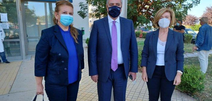 """Γ. Καρβέλης: """"Δίχτυ"""" υγειονομικής ασφάλειας  η ΜΕΘ για το Αγρίνιο και την ευρύτερη περιοχή – Σήμερα η επανεκκίνηση"""
